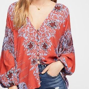 Birds of a Feather blouse.